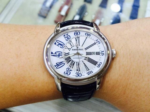 Ap Millenary 18k Solid White Gold Year 2008 Swiss Hour