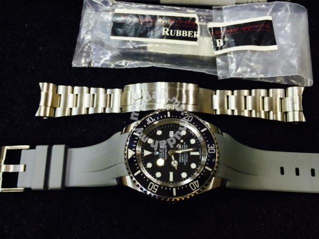 Rolex Deepsea 116660 With Rubber B Swiss Hour