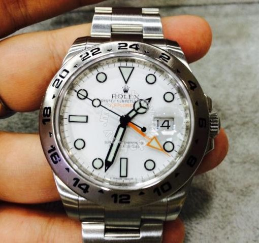 Rolex Explorer Ii 216570 Polar Year 2012 Swiss Hour