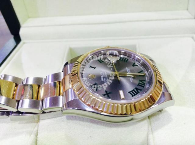 Rolex Datejust Ii 41mm By Roger Federer Swiss Hour