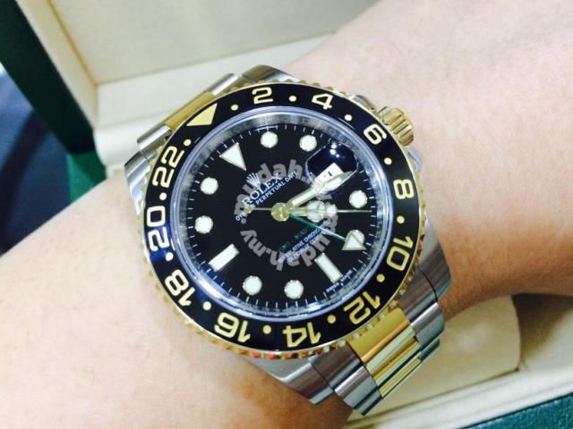 Rolex Gmt Master Ii Two Tone Year 2014 Swiss Hour