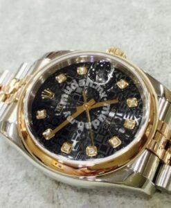 Rolex datejust 18K Rose Gold Steel 1