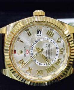 Rolex Sky Dweller Solid Gold Year 2015 1