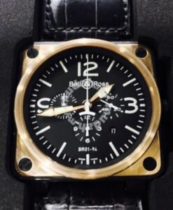 Bell And Ross BR01-94 Rose Gold 1