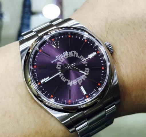 Rolex Oyster 114300 Purple 39mm 2016 Swiss Hour