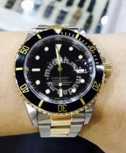 Rolex Submariner Two Tone Black 1