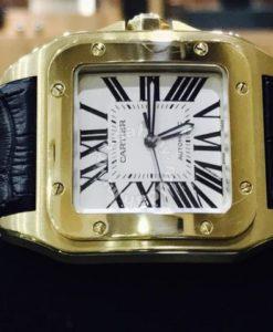 Cartier Santos 100 Rose Gold Year 2015 1