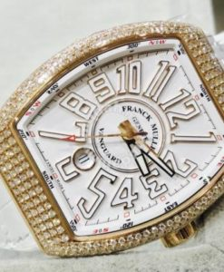 Franck Muller Vanguard(Custom Diamond) 1