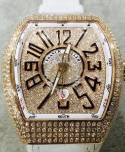 Franck Muller Vanguard(Custom Diamond)a
