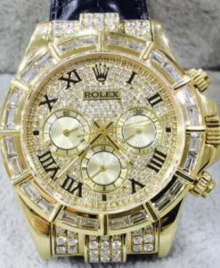 Rolex Daytona 18K Gold (Custom Diamond) 1