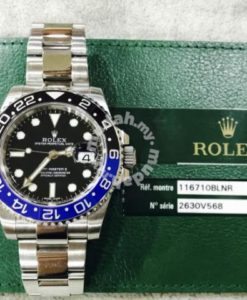 Rolex Gmt Master II Batman full set