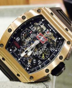 Richard Mille RM011 Rose Gold Year 2014 1