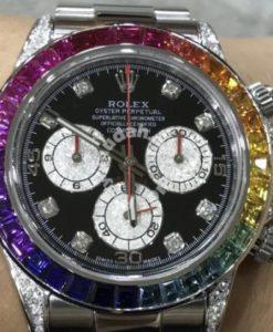 Rolex Daytona 116520 (Custom Rainbow)