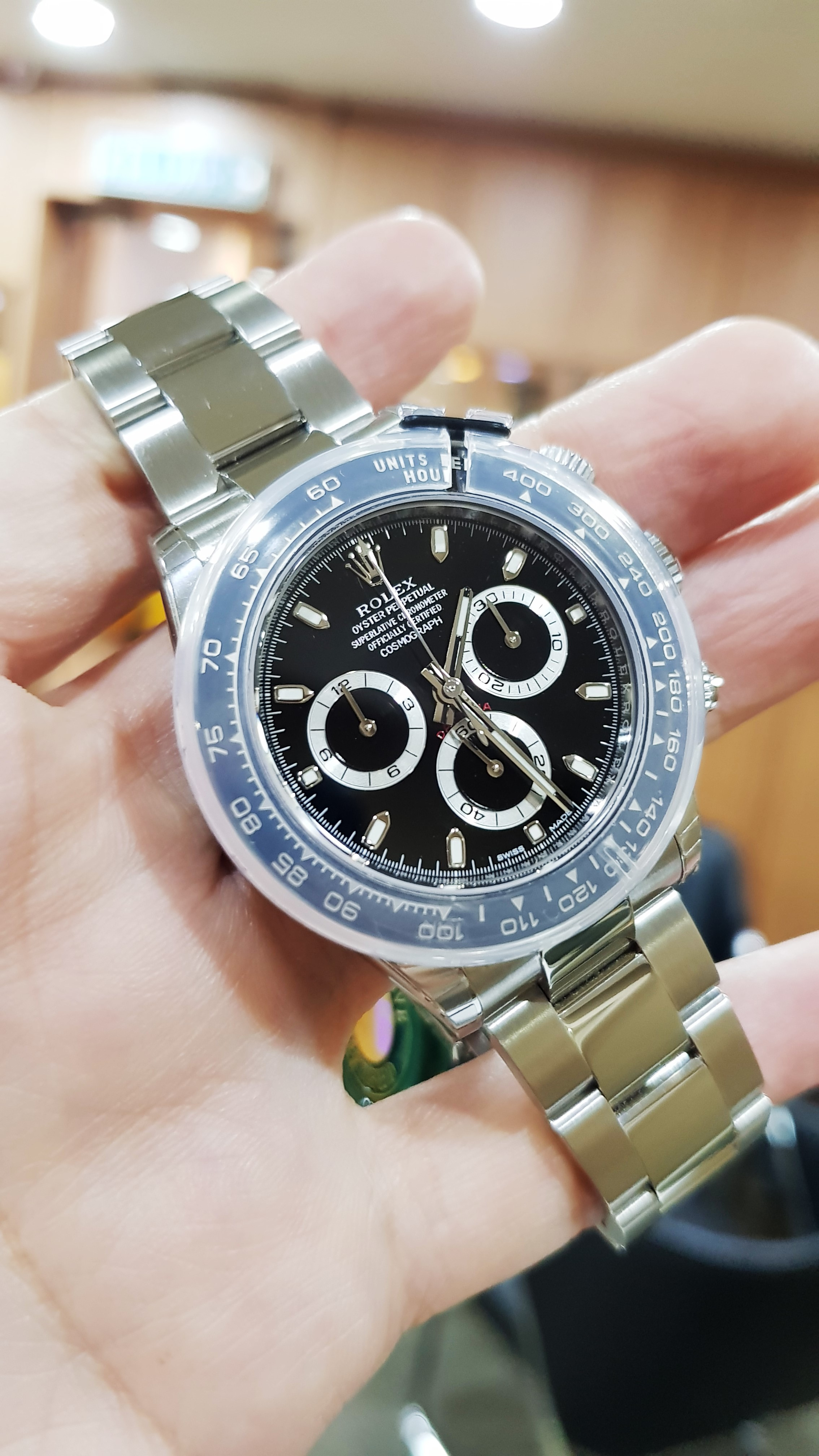 brand new rolex daytona 116500ln 2018 swiss hour. Black Bedroom Furniture Sets. Home Design Ideas